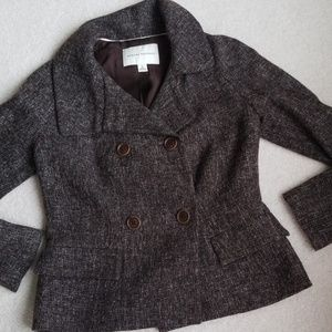 Banana Republic tweed blazer. Like New!